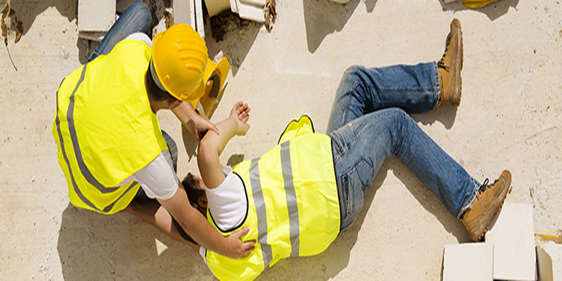 Man Injured At Work Site